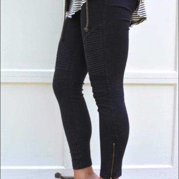 UMGEE High Elastic Waisted Leggings Black Jegging Comfy Jeans Dress Pants S-XL